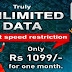 BSNL Offering Unlimited 3G data usage without any speed restriction for Prepaid users @1099 from 25th August, 2016