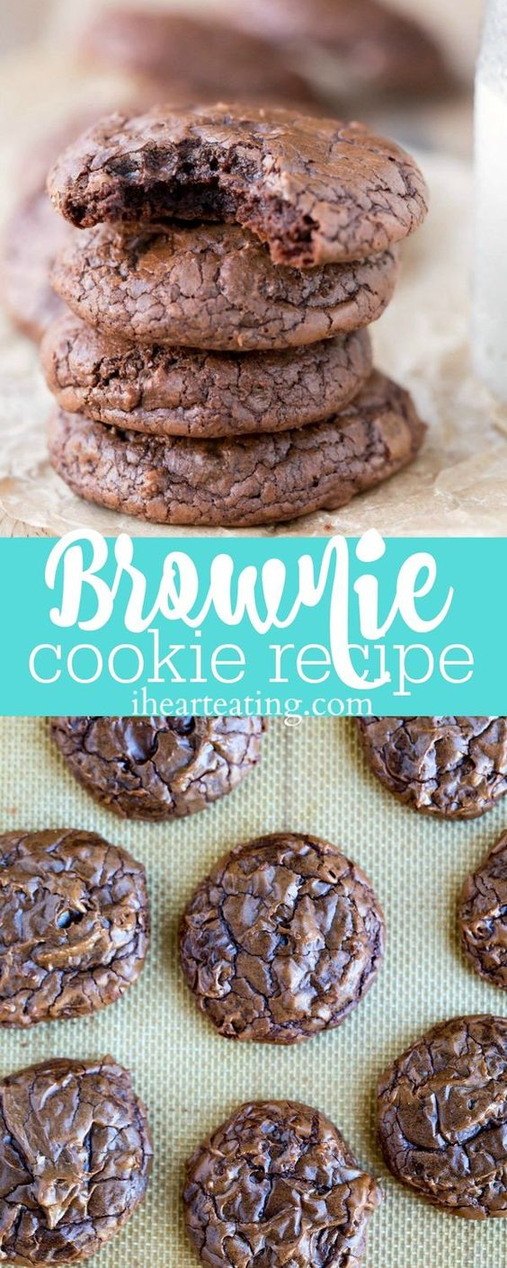 Brownie Cookie #brownies