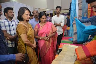 Actress Akkineni Amala Inaugurates Go Swadeshi Expo at Banjara Hills