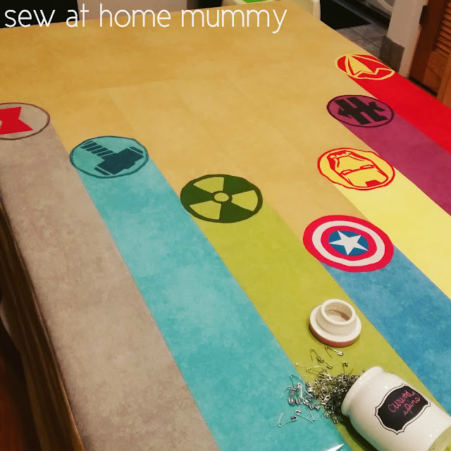 cool boy's quilt idea - marvel avengers, captain america, iron man, hulk, even black widow and hawkeye! by Sew at Home mummy