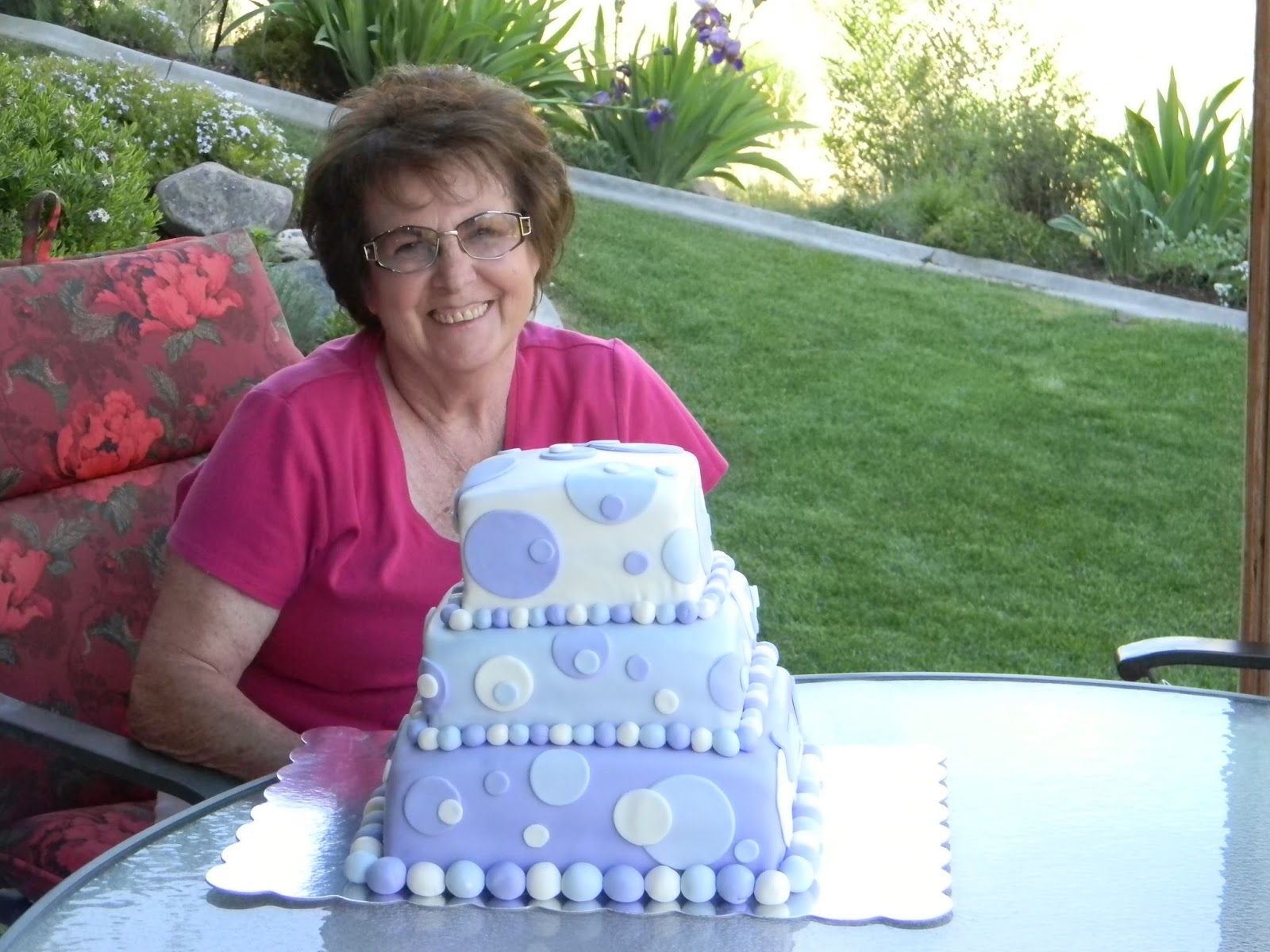 Purple Is My Moms Favorite Happy Clean Living 75th Birthday Party