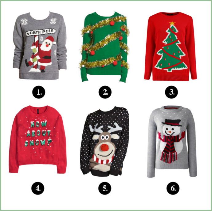 Christmas Sweater, Ugly Sweater, Knit Sweater, Winter, Christmas, Snow, Christmas Tree, Tinsel, Reindeer, Santa, Snowman