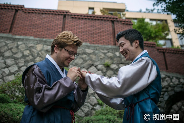Chuyện tình đẹp của cặp đôi kết hôn tại Hàn Quốc nhưng phải sang Thụy Sĩ để đăng ký