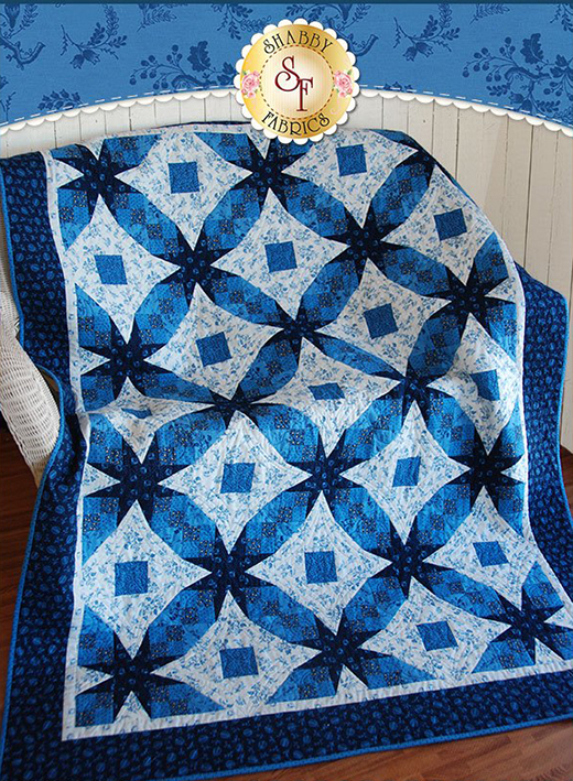 Tennessee Waltz Quilt Free Tutorial designed by Jennifer of Shabby Fabrics.