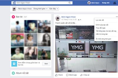 Facebook bỏ chức năng xóa Status