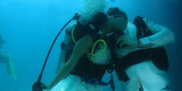 Tips Menikah Di Bawah Laut