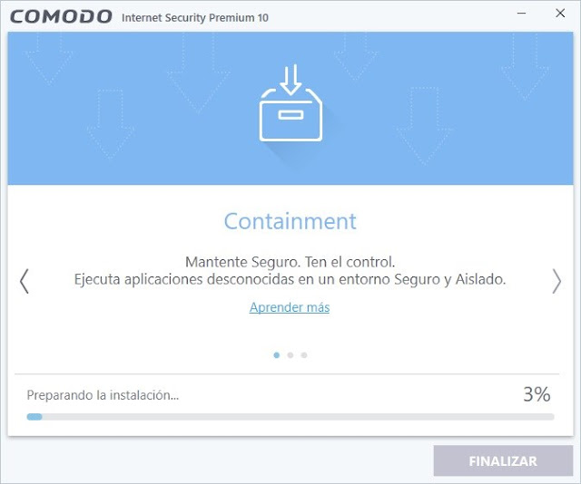 Comodo Internet Security Premium 10 imagenes