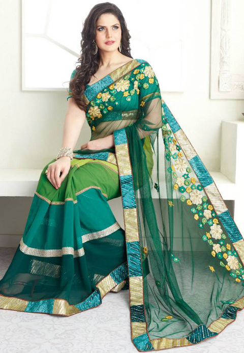 pakaian adat wanita india