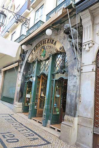 Café A Brasileira, Chiado, Lisbon.