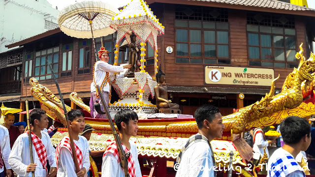 Songkran 2018 in Nan - Thailand