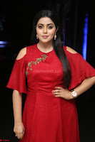 Poorna in Maroon Dress at Rakshasi movie Press meet Cute Pics ~  Exclusive 129.JPG