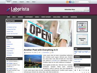 Laborista Free WordPress Theme