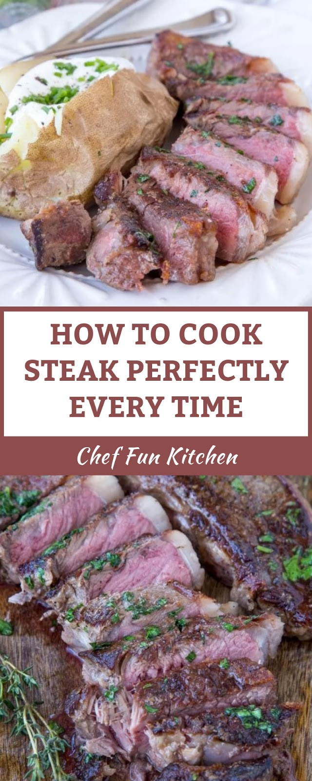 HOW TO COOK STEAK PERFECTLY EVERY TIME