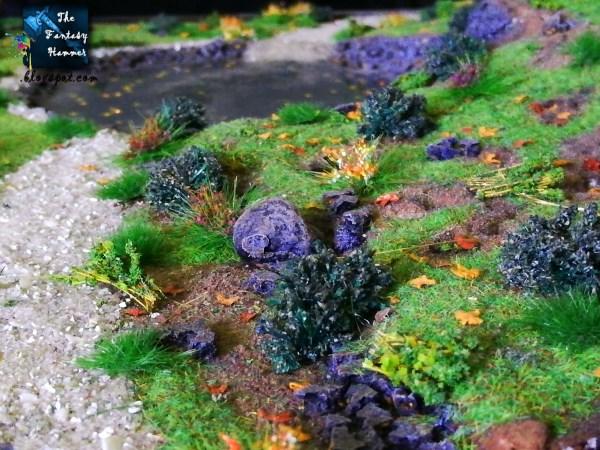 Autumn Wood Elves Diorama Display
