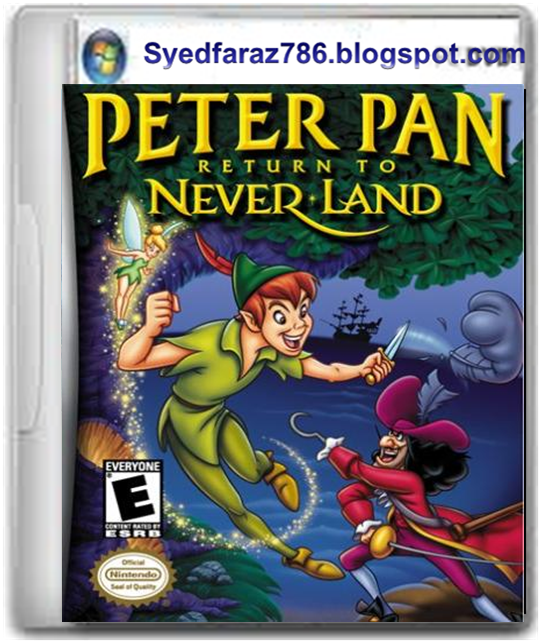 Peter Pan Return To Never Land Game Free Download Full ...