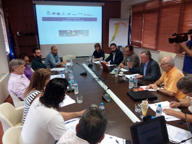 Ηγουμενίτσα: Πρώτη συνάντηση μεταξύ των εταίρων για το Εμπορευματικό Κέντρο
