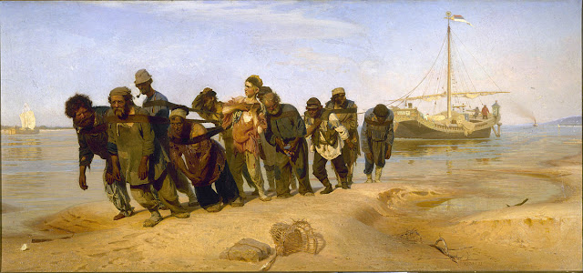 «Бурлаки на Волге» — картина русского художника Ильи Репина,