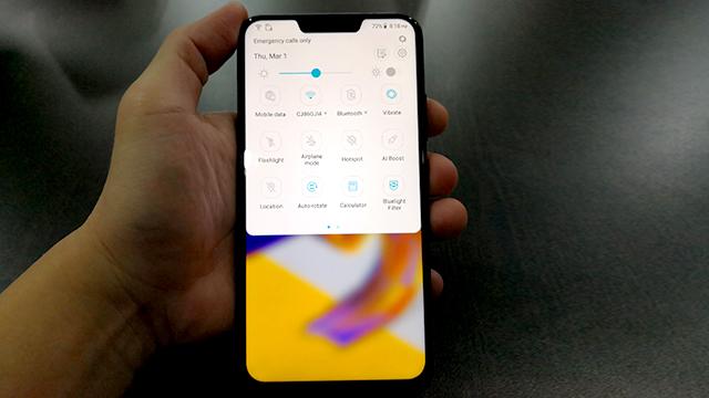 Cara Mengambil Screenshot di Asus Zenfone 5z Tanpa Aplikasi