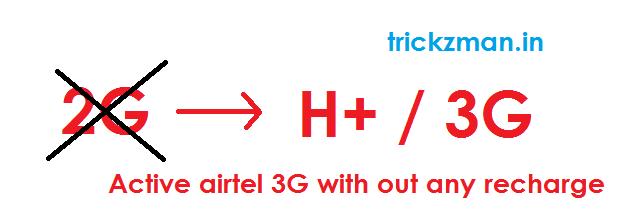 AIRTEL 3G activing