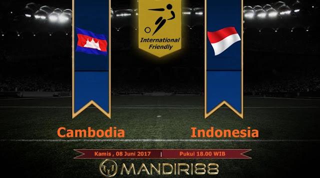 Prediksi Bola : Cambodia Vs Indonesia , Kamis 08 Juni 2017 Pukul 18.00 WIB