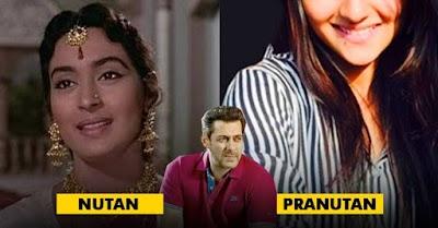Salman To Launch Nutan's Granddaughter Pranutan? Her Pics Are Damn Beautiful