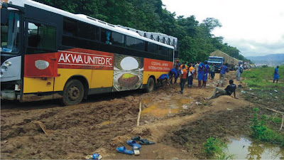 Akwa United FC's accident by Club Chairman, Paul Bassey, says staff