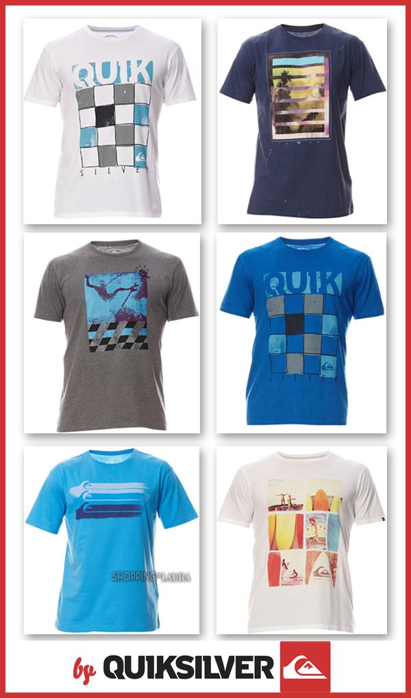 T-shirts homme imprimé QUIKSILVER