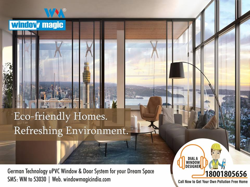 UPVC Windows and Doors Manufacturers Make your house ultramodern