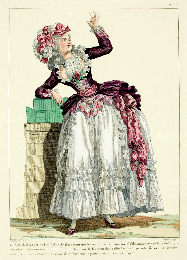 1780 S Fashion Plate Follow The Link For More Plates With Very Low Necklines 462863eb597