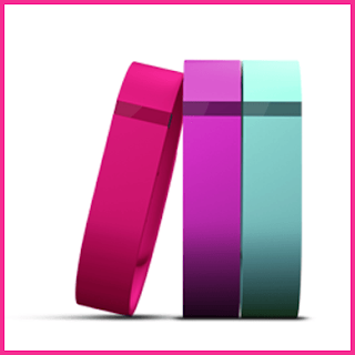 Fitbit Flex multi-band package in bright colors