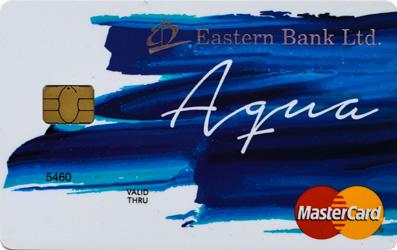 EBL MasterCard Aqua Prepaid Card