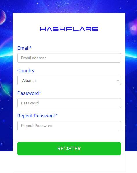 إثبات الدفع من موقع HashFlare أفضل موقع لـتعدين البيتكوين والإيثيريوم