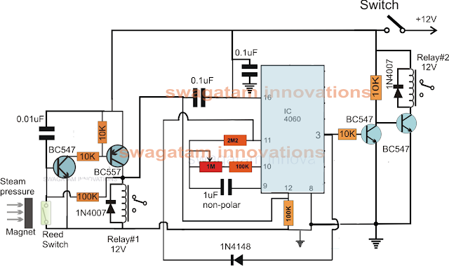 Autoclave Heater Controller with Timer circuit