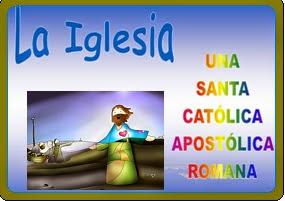 Resultado de imagen de CREO EN LA IGLESIA CATOLICA