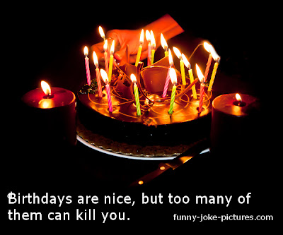 Funny Birthday Quote Caption Image