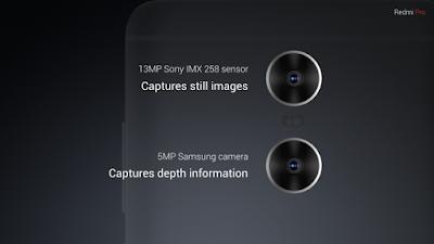 Xiaomi Redmi Pro Camera Sensor
