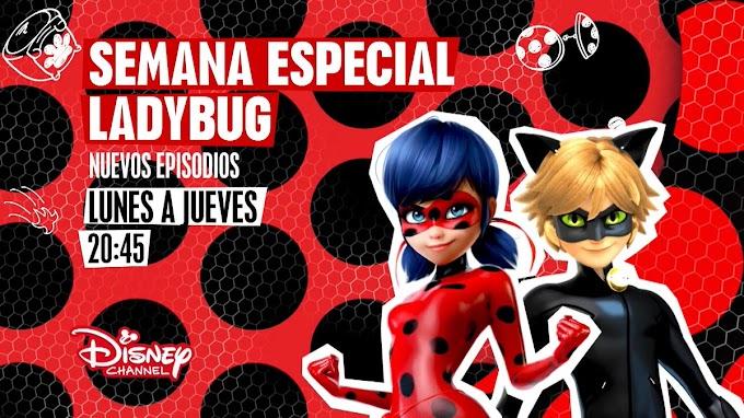 Disney Channel ya emite los nuevos episodios de LadyBug