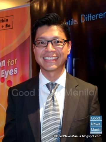 Dr. Joel Javier, Bausch + Lomb Philippines' Country Manager