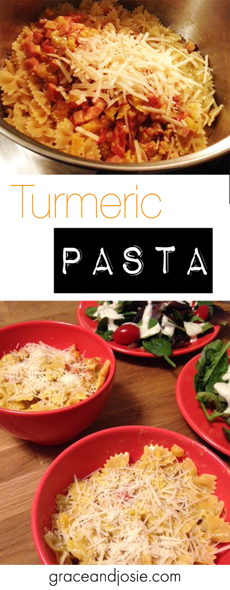 Turmeric Pasta Recipe Pinterest