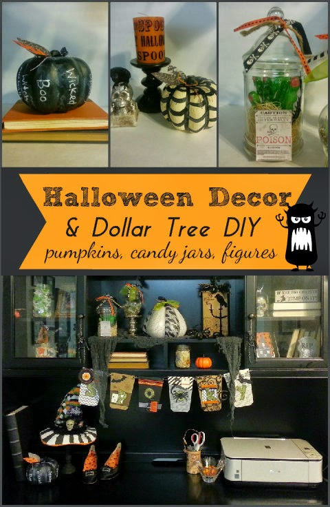 Mint of My Life: Dollar Store Halloween Decor DIY
