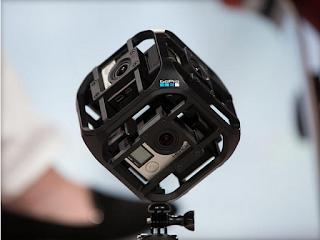 """الشركة الأمريكية """"GoPro"""" واحدة من أهم الشركات المصنعة لكاميرات"""