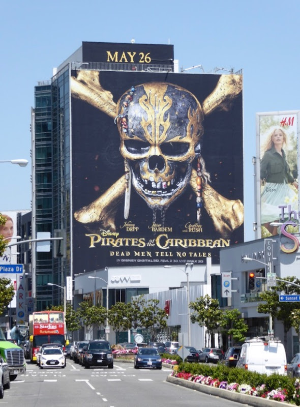 Pirates Caribbean Dead Men Tell No Tales billboard