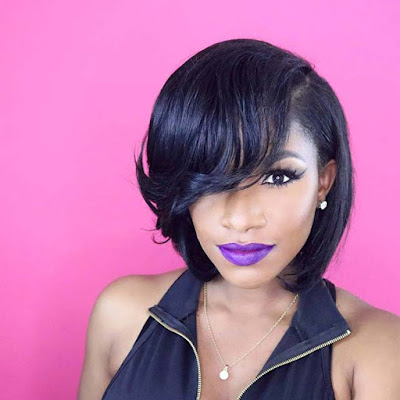 Maybe you prefer the inverted bobs but need a subtler hairstyle 24+ Inverted Bob Weave Hairstyles For African American Women