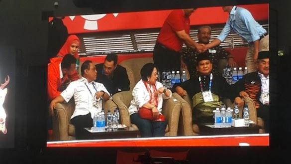 Megawati Hadiri Pertandingan Pencak Silat, Penonton Teriakkan Nama Prabowo