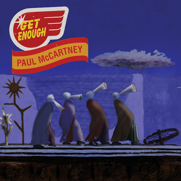 Paul McCartney - Get Enough - Single Cover