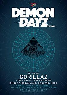Gorillaz, Humanz, Damon Albarn, Disco, Concierto