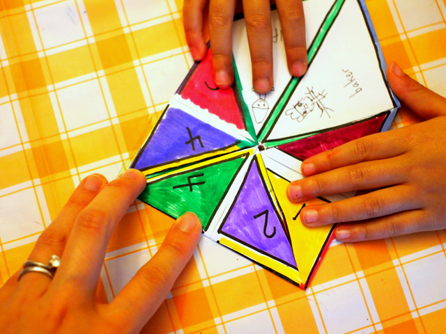 """When I Grow Up"" Activity- Make Fortune tellers with preschoolers- Easy activity with printable too!"