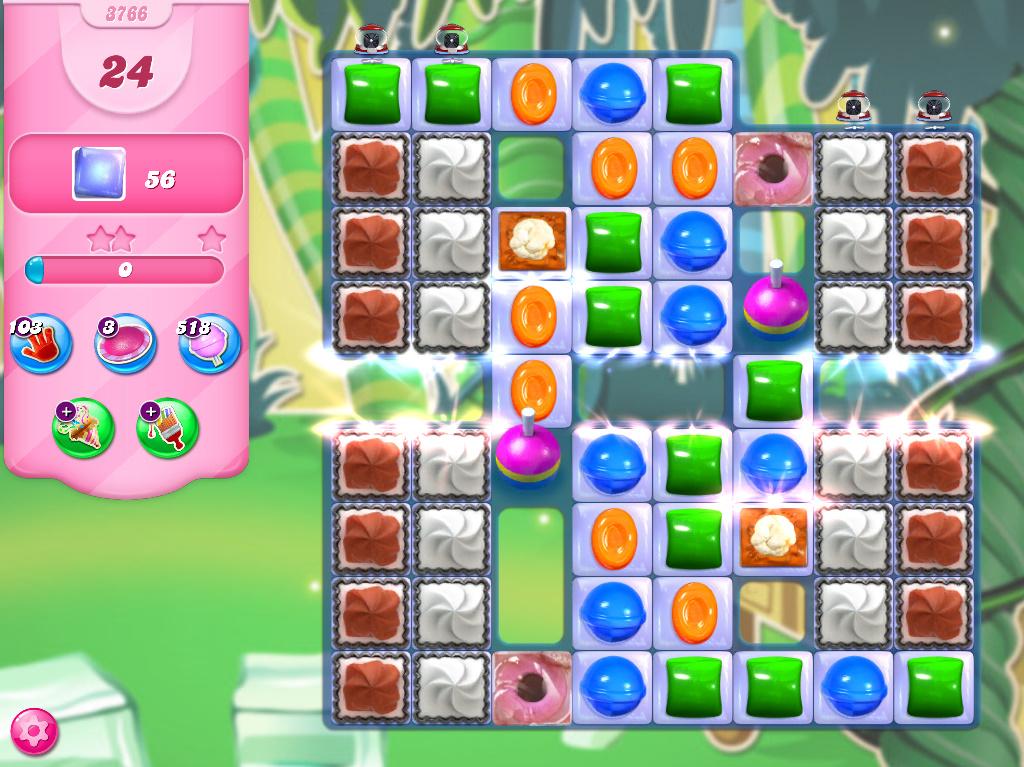 Candy Crush Saga level 3766