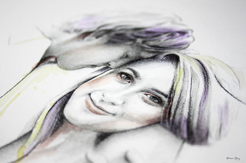 Retratos personalizados por encargo
