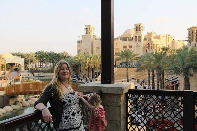 Madinat Jumeirah monipuolinen soukki lasten kanssa